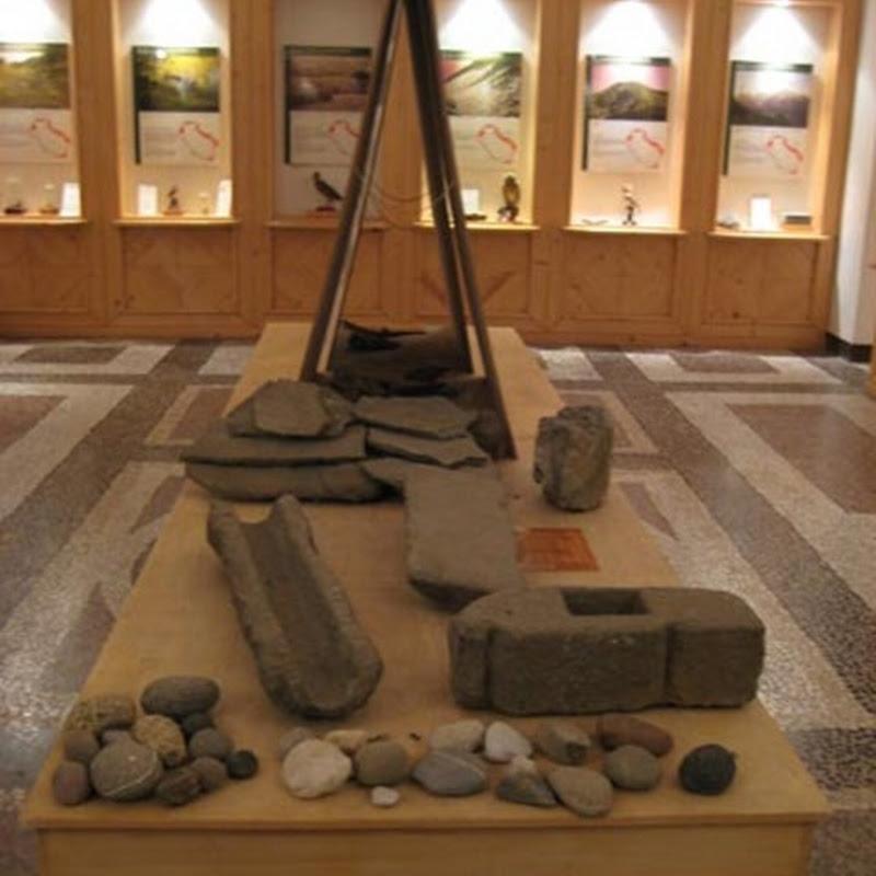 Il museo di storia naturale della Lunigiana venne istituito all'interno dell'imponente fortezza della Brunella di Aulla.