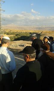 ההילולה של משה רבנו מול הר נבו