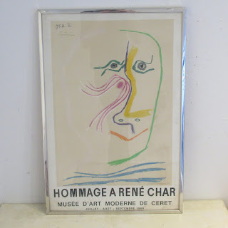 Hommage a René Char Exhibition Lithograph