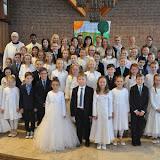 Gruppenfotos Erstkommunion Melle 24.04.2017