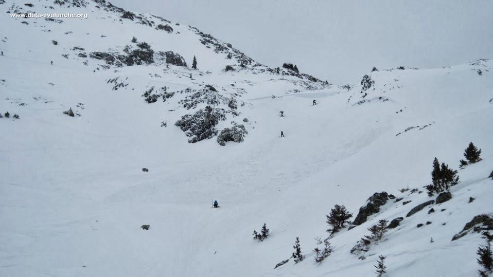 Avalanche Belledonne, secteur Le Grand Van, Pas des Escombailles - Photo 1