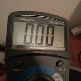 Documenting the model number of the multimeter as the fuse needs to be replaced. Triplett 9005-A requires 2A/250V 5x20mm
