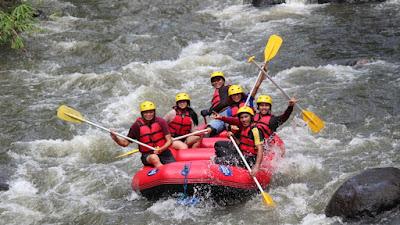 Sungai Sawangan Punya Potensi Olahraga Arung Jeram