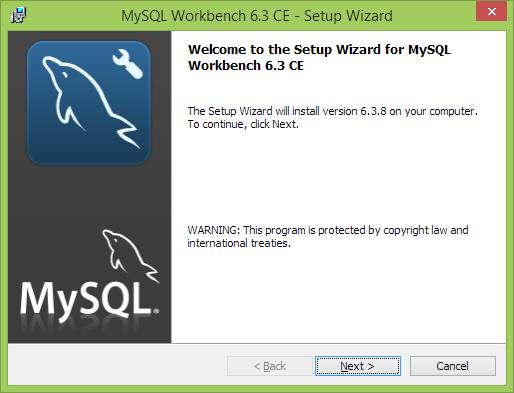Instalación MySQL Workbench
