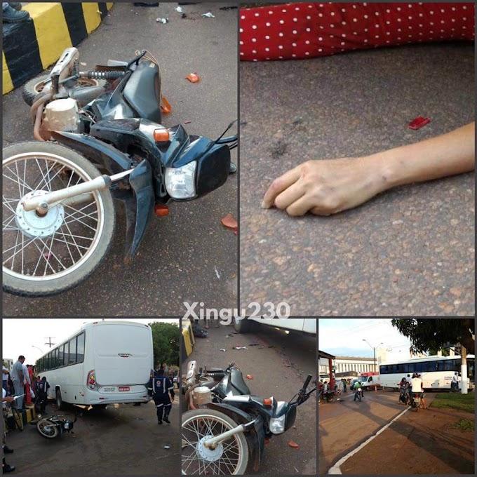 Acidente grave faz vítima fatal em Altamira