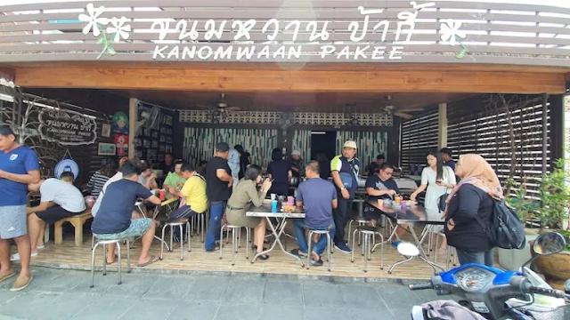 Thailand | Kanomwaan Pakee  - kedai manisan semurah THB10 !