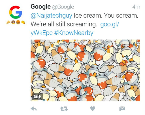 Tweet A Food Emoji At Google's Twitter Account And Get An Instant Funny Reply 1