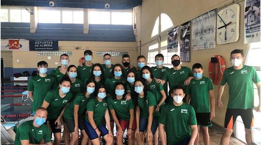 El CN Almería: pasión por la natación