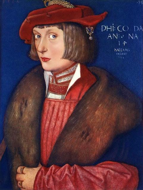 Hans Baldung - Count Philip