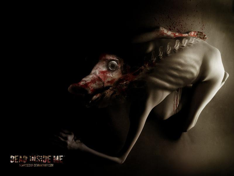 Dead Inside Me By Scarypaper, Demons