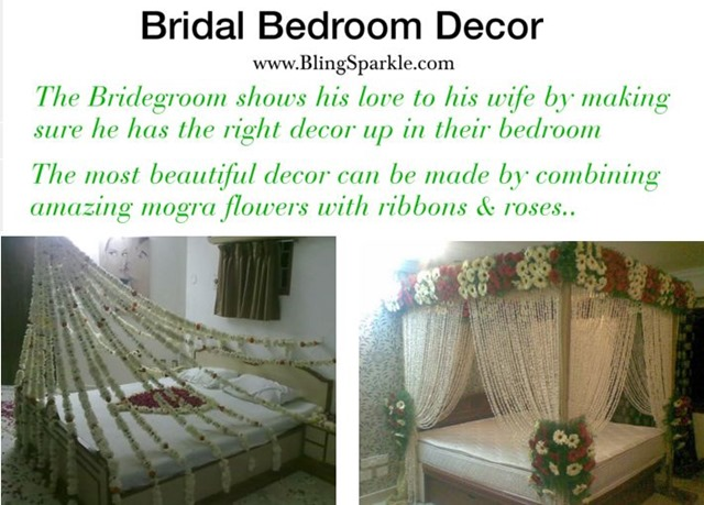 7 ways to use jasmine mogra in weddings flower power for Asian wedding bed decoration