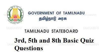 8th Science Unit 9 Basic Quiz  Answer Key Tamil Medium Download PDF