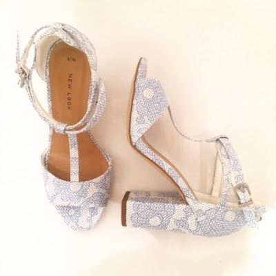 new look lace heels