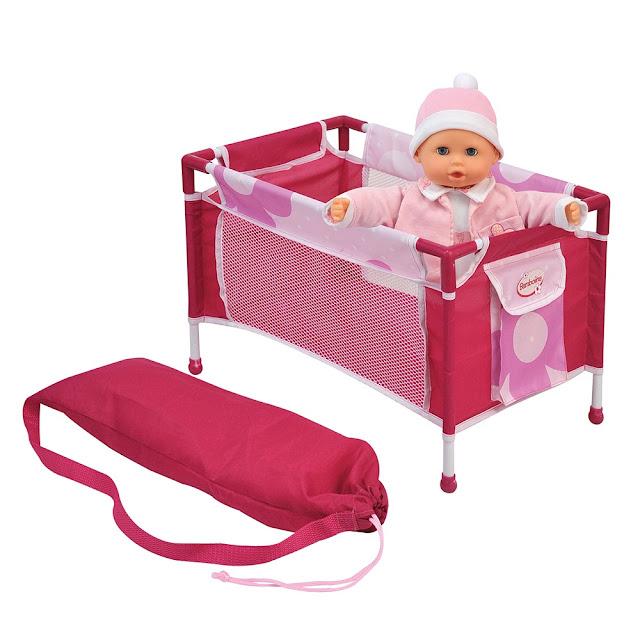 Bộ giường ngủ búp bê Bambolina BD9548-20
