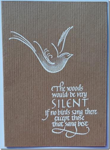SILENT WOODS CAS