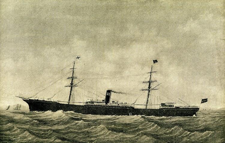 Grabado del vapor CONDE WIFREDO. Foto de la Revista de Navegación y Comercio. 1893.jpg