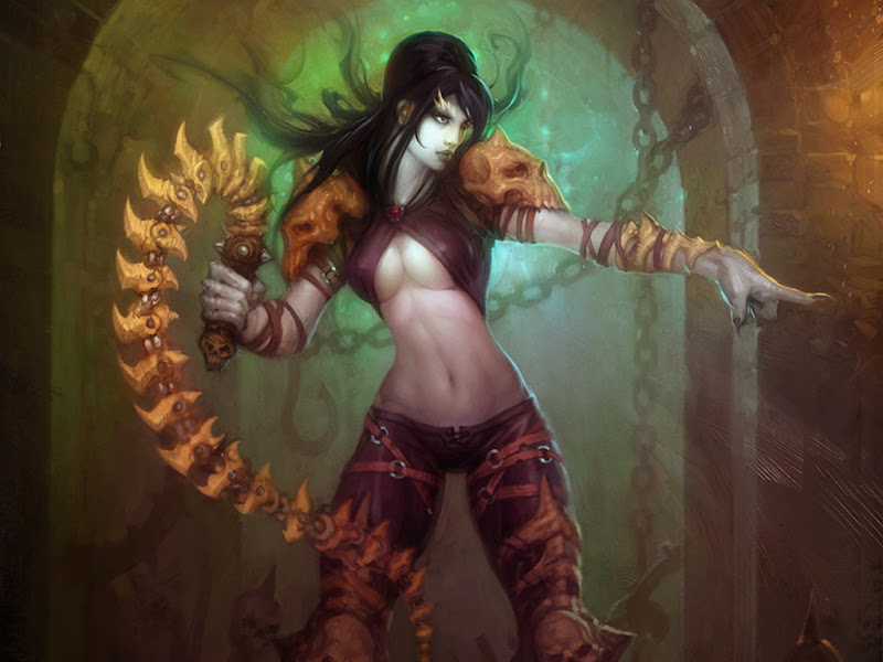 Girl Warrior With Chain, Warriors 2
