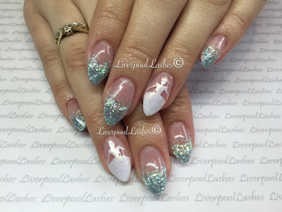 liverpoollashes liverpool lashes cinderella nails acrylics nail art disney nails elegant