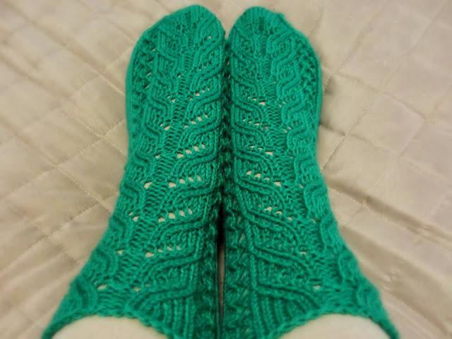 Vihreät Kerttu -sukat