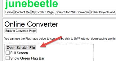 Scratch Converter