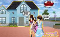 ID Rumah Diatas Kantor Polisi Di Sakura School Simulator