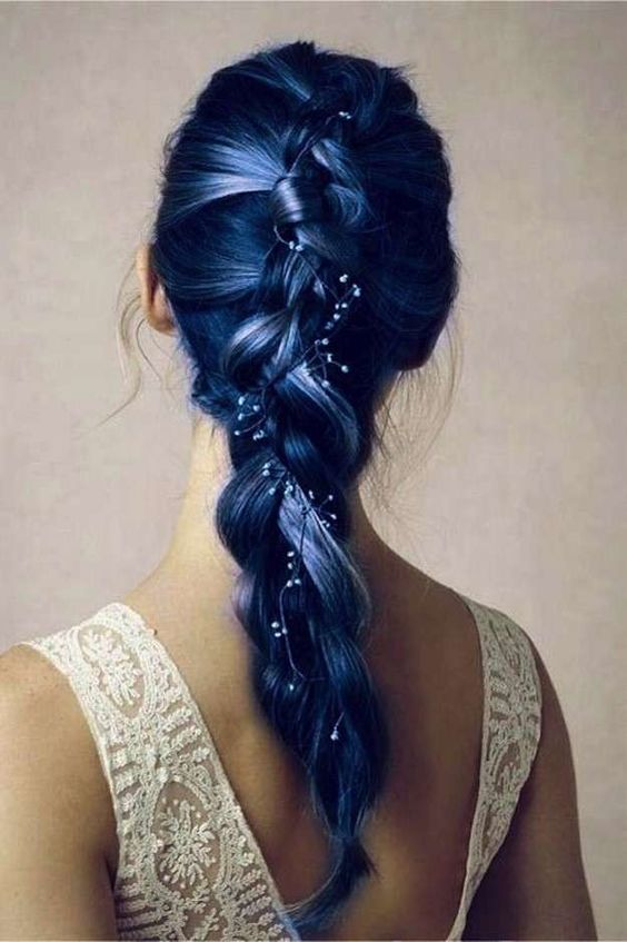 Blue Hairstyles For long Hair-It Is Different 2017 3