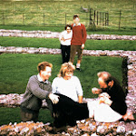 1964 Maiden Castle, Alan, Anthea, Eric in foreground and to rear, Andy and Sylvia Hopkinson.jpg