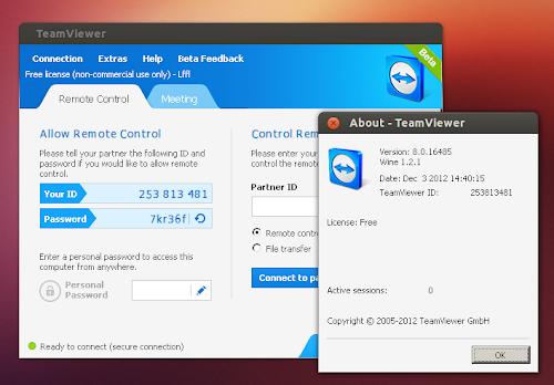 TeamViewer 8.0 Beta su Ubuntu