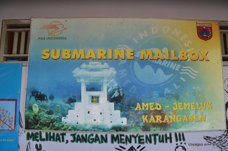 Jemeluk Submarine Mailbox