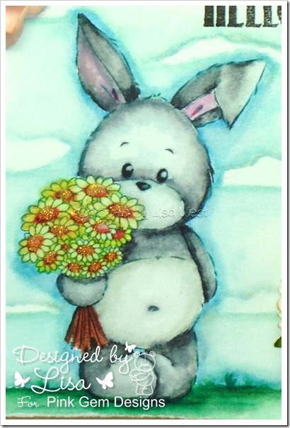 Bunny with Flowers (1)