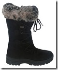 Calzat Fur Trim Traction Boot