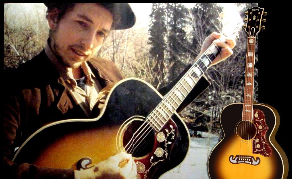 Bob Dylan S Gear Gibson J 200 Sunburst
