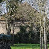 Ancien pavillon de chasse du XVIIIe siècle. Les Hautes-Lisières (Rouvres, 28), 16 mars 2012. Photo : J.-M. Gayman