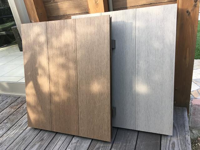 ウッドデッキに最適な人工木材のご紹介☆