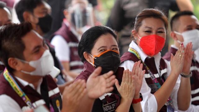 HIPMI Gelar Vaksinasi, Puan: Ini Bentuk Gotong Royong Masyarakat