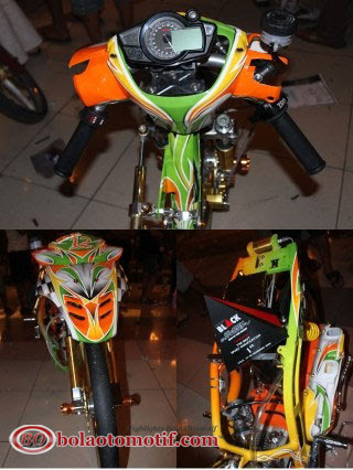 Modifikasi Mio Drag Solo