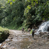 Autre biotope de P. eurimedes arriphus (Boisduval, 1836) : cascade (890 m d'altitude) près de Santa María (Boyacá, Colombie), 18 novembre 2015. Photo : Charles Basset