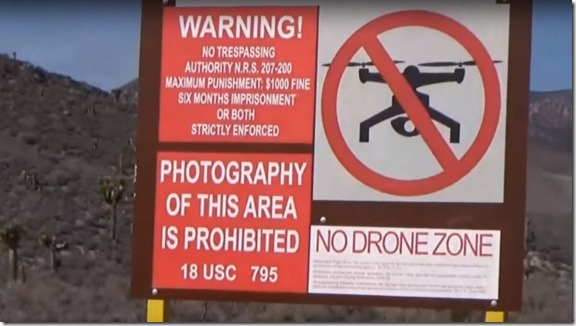 Area 51 NO DRONE ZONe