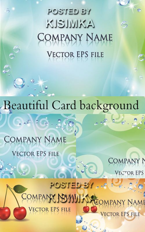 Stock: Beautiful Card background
