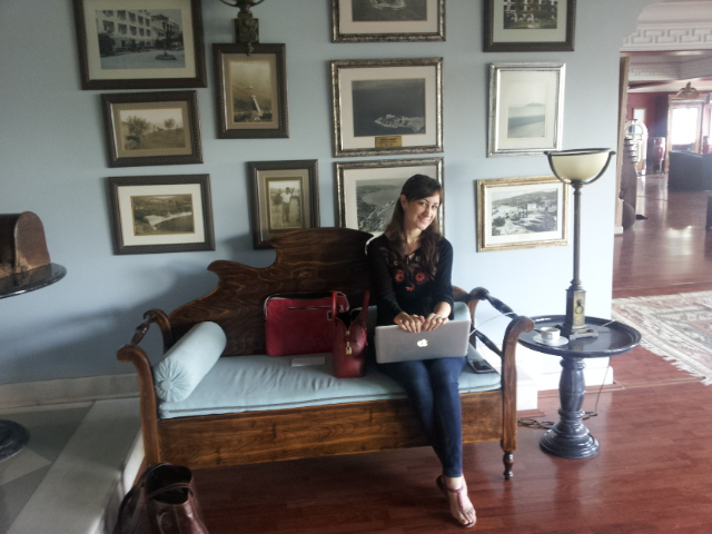 Gizem at the Hotel Kismet, Kusadasi. From #WidenYourWorld: Most Influential Travel Bloggers Share the Best of Turkey
