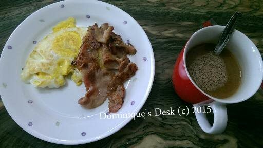 Bacon and Eggs and Hot Cocoa