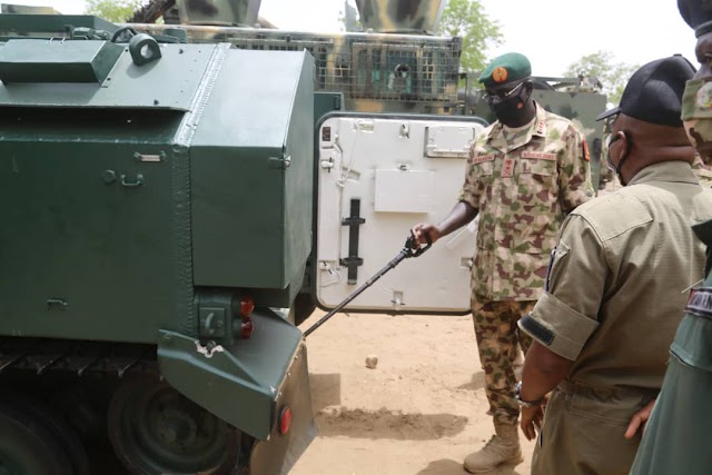 Boko Haram In Trouble As Nigerian Army Deploys More Combat Vehicles