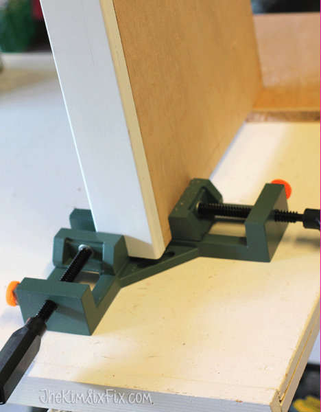 Corner clamps to make drawer boxes