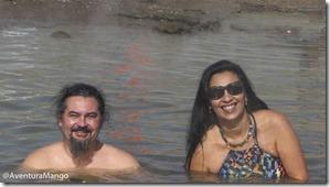 Banho em El Tatio