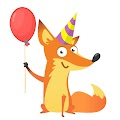 Cartoon Funny Fox Cool Illustration Free Download Vector CDR, AI, EPS and PNG Formats