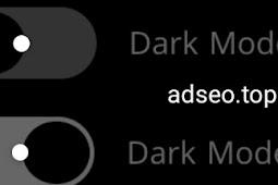 Cara membuat dark mode di blogger