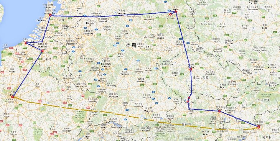歐洲七國親子旅遊行程分享