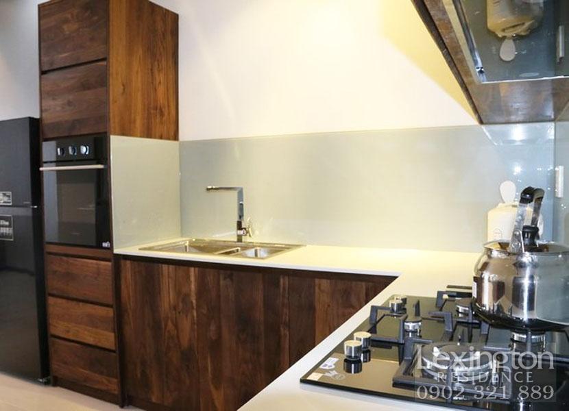 khu vực bếp tại căn hộ