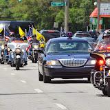 Sgt. Rodriguez Patriot Guard Riders Escort