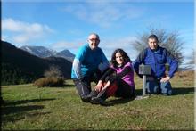 Bastelarra mendiaren gailurra 863 m. --  2015eko azaroaren 29an